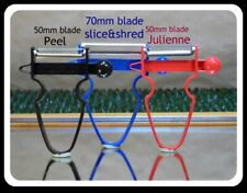 TROI PEELER,Slicer & JULIENNE, Australian made,  Watch video, One year Warrant.