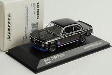 BMW 2002 turbo schwarz 1973 1:43 Minichamps Maxichamps