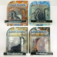 4 Mage Knight Dragons Radiant Light, Polar Ice, Venomous Shadow, Great Fire NEW