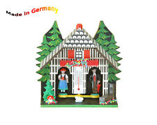 Weather-house, Figures show the weather Made in Germany, Black forest, Gift idea