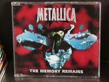 METALLICA The memory remains MAXI CD 3 titres 5682692
