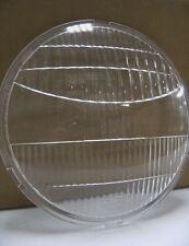 "1933 1934 Ford Car Pickup Truck Glass Fluted Headlight Lens 9"" Diameter w Logo"