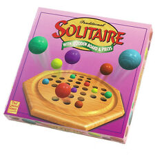 Solitaire Classic Wooden Game