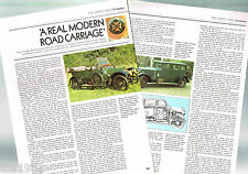 vintage CROSSLEY Cars (UK) Article / Photo's / Pictures: 15, BURNEY,