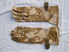 Gants combat chaud temps, Desert cuir gants , daté 2008, gr. 11