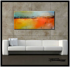 ABSTRACT PAINTING CANVAS WALL ART Large Listed by Artist Framed US  ELOISExxx