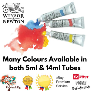 Winsor and Newton Professional Watercolour Tubes, 14ml & 5ml Water Colour Paint