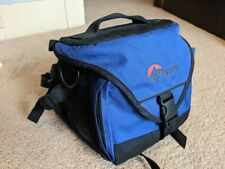 Lowepro Slr Camera Bag Blue Slightly Used