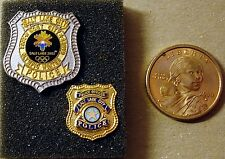 Salt Lake City 2002 Olympic Winter Games host-city police pin and SLC lapel pin