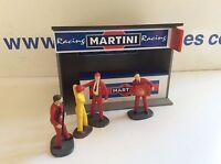 1:32 Scale Slotcar - Martini Racing Pit Building Ninco Scalextric Carrera SCX
