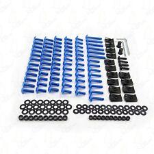 Complete Fairing Bolts Screws Fasteners Kit For SUZUKI GSXR 600 750 1000 Blue