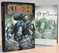 ***SIGNED #'d LIMITED ED*** Stinger AUTOGRAPHED Book by Robert McCammon (NEW) HX