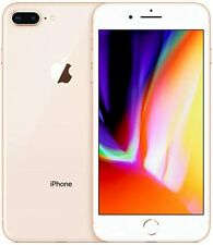 Brand New With Seal Apple iPhone 8 Plus 256GB Color-Gold.   Cricket Wireless