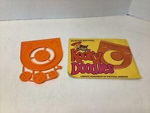 Vintage Buster Brown Kooky Doodles Toy Drawing