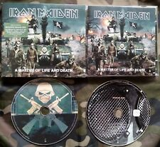 IRON MAIDEN - A MATTER OF LIFE AND DEATH LIMITED SLIPCASE CD + DVD PAL EURO 2006