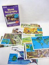 WORLD GEOGRAPHY Ask n Answer Cards T-1746, 20 cards in box, 9 to Adult, TREND