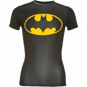 Under Armour Mens Alter Ego Compression Shirt Batman 1244399-006 Size Small NWT