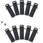 10X Waist Belt Clip Baofeng UV-5R BF-F8+ UV-5RA BF-F8HP DM-5R Radio WalkieTalkie