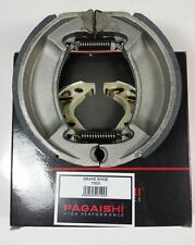 PAGAISHI REAR BRAKE SHOES Yamaha SR 125 3MW8 1999 C/W SPRINGS