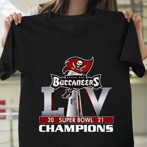 Tampa Bay Buccaneers LIV 2021 Super Bowl Champions Unisex T-Shirt Gift For Fan