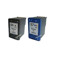 Cartuccia di inchiostro per HP 56 + HP 57 C6656A C6657A Stampante