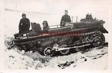 Fahrschul - Panzer I eingegraben im Schnee