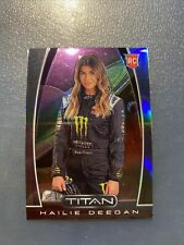 2020 Panini Chronicles Racing TITAN PRIZM card HAILIE DEEGAN