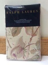 Ralph Lauren Wilton Rose Floral Flanged European pillow sham 100% cotton
