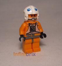 LEGO Rebel Pilot X-WING dal Set 9677 STARFIGHTER & YAVIN 4 Star Wars sw399 NUOVO