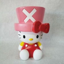 """HELLO KITTY with TOP HAT PLASTIC PIGGY BANK. 9"""" TALL"""