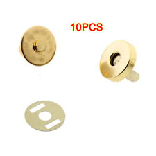 10 pcs Magnetic Snap Fasteners Clasps Buttons for Handbag Bags 18x14mm CT