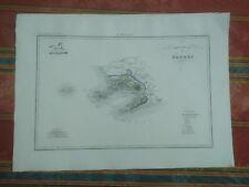 1844 Zuccagni-Orlandini Provincia di Napoli Mappa Carta Geografica Campania