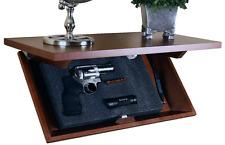 Hidden Gun Cabinet Storage Safe Shelf Case Compartment Concealed Firearm Money