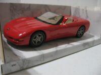 1998 Chevrolet Corvette Convertible Dealer Promo Model #8345 - Red