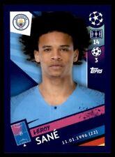 Topps Champions League 2018/19 - Leroy Sané Manchester City FC No. 170