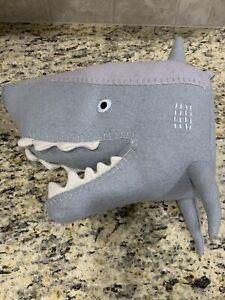 "Target Exclusive Pillowfort 14"" Plush Shark Head Kids Room Wall Decor Mount"
