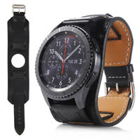 Leather Wrist Watch Band Strap 22mm For Samsung Galaxy Gear S3 Frontier/Classic