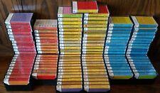 AUIDO TEXT Cassettes RARE Educational Center for Cassette Studies Lot of 126