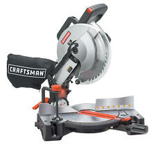 "Craftsman 10"" Compound Miter Saw 15-Amp Laser Precision Jobsite & Home Shop"