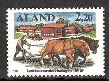 Finland / Aland - 1988 100 years agricultural education - Mi. 27 MNH
