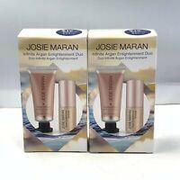 Josie Maran Infinite Argan Enlightenment Duo 7ml/0.23oz.-15ml/0.5oz. NEW IN BOX