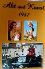 AKt & KUNST 1987 foto NACKT nude frau girl mädchen behaart ddr erotik eros paare