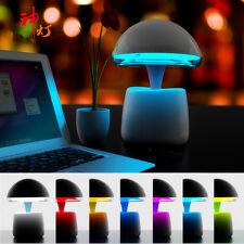 Magic Lamp Adjustable Remote Control Night Light Bluetooth Speakers Alarm Clock