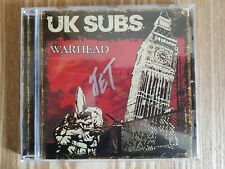 SIGNED CD UK Subs Warhead 2008 signed by Jet scarce