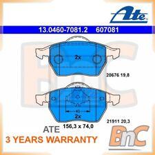 ATE FRONT DISC BRAKE PAD SET AUDI SKODA SEAT VW OEM 13046070812 3A0698151A