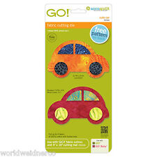 AccuQuiltGO!& Baby GO!Fabric Cutter Cutting Die Cute Car 55354 Applique Quilting
