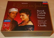 ROSSINI-IL TURCO IN ITALIA-1ST ISSUE-2xCD 1998-CHAILLY-CECILIA BARTOLI-MINT