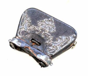 VINTAGE Folding Opera Glasses W/ Decorative Case - USED - W58