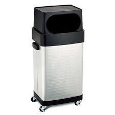 Seville Classics UltraHD Commercial Stainless Steel Trash Bin