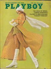 Original ~ April 1970 ~ Playboy Cover ~ Cover Only ~ Go-Go Boots